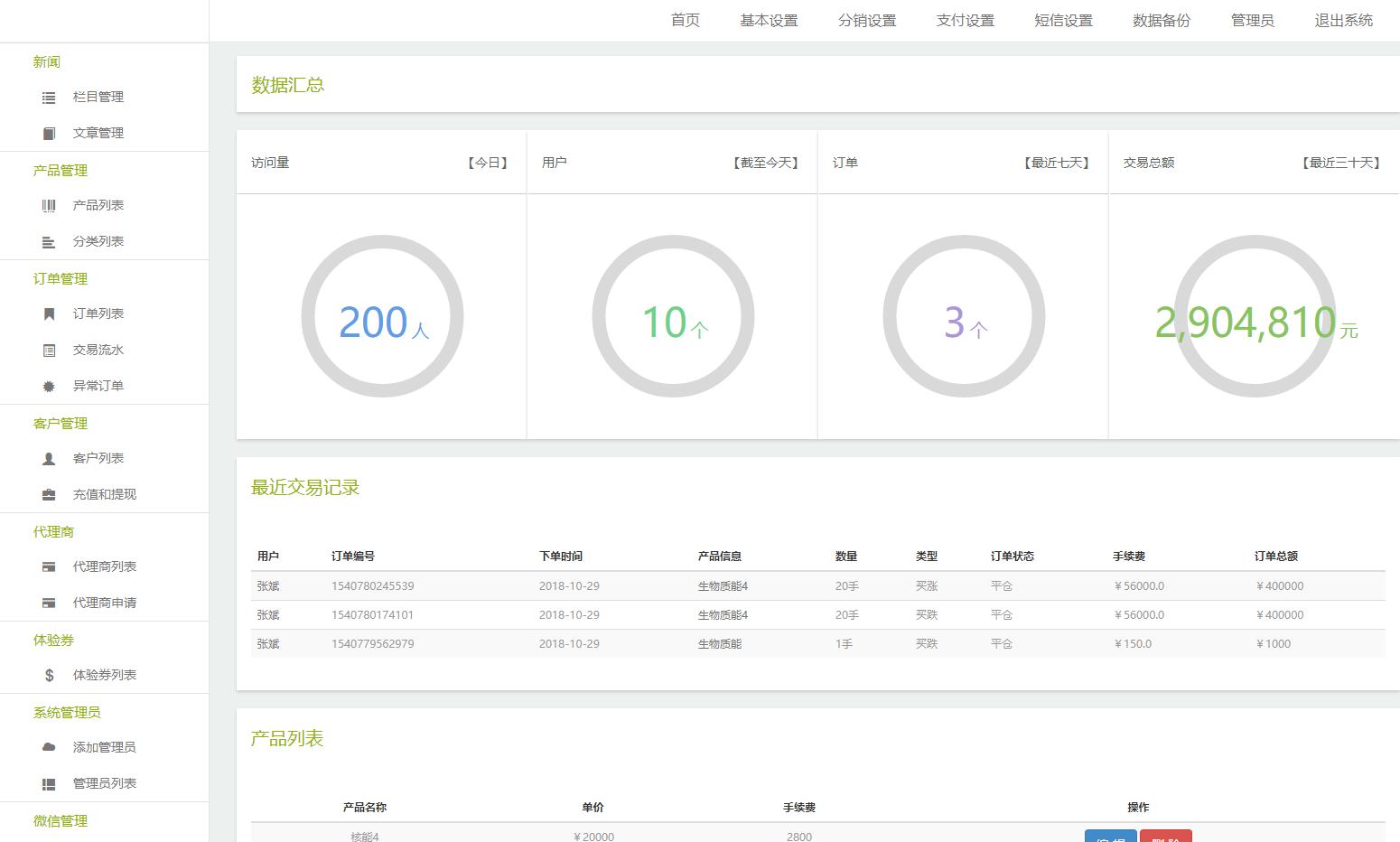 独家修复 汇通国际微盘 微交易点位盘 二次开发带代理功能运营版源码 网站源码 第9张